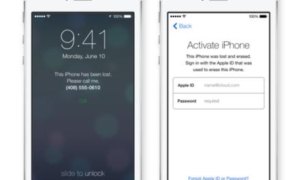 Activation Lock, una capa de seguridad más en iOS 7