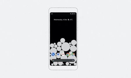 Este fondo de pantalla de Google permite saber cuánto estás usando el teléfono mediante burbujas