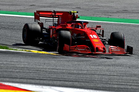 Leclerc Austria F1 2020