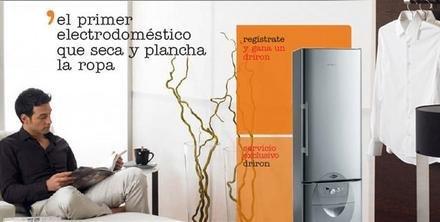 Driron, planchadora automática