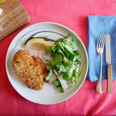 Pechugas de pollo empanadas en freidora sin aceite: una receta infalible
