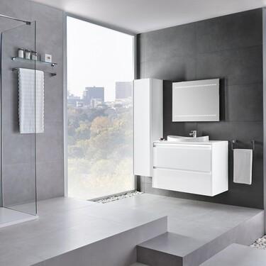 La columna de baño, la clave para tener baños organizados