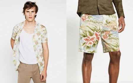 Exotic Safari Lookbook Man Summer 2016 Zara