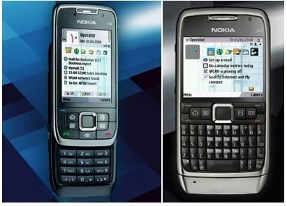 Nokia E71 y E66