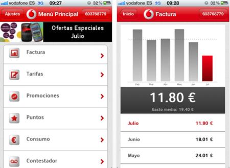 Mi Vodafone, ahora también disponible en iPhone