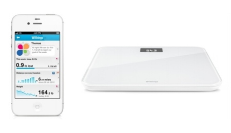 Báscula WiThings con app iPhone