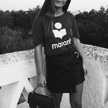 La camiseta Koldi de Isabel Marant, el último boom de la firma francesa