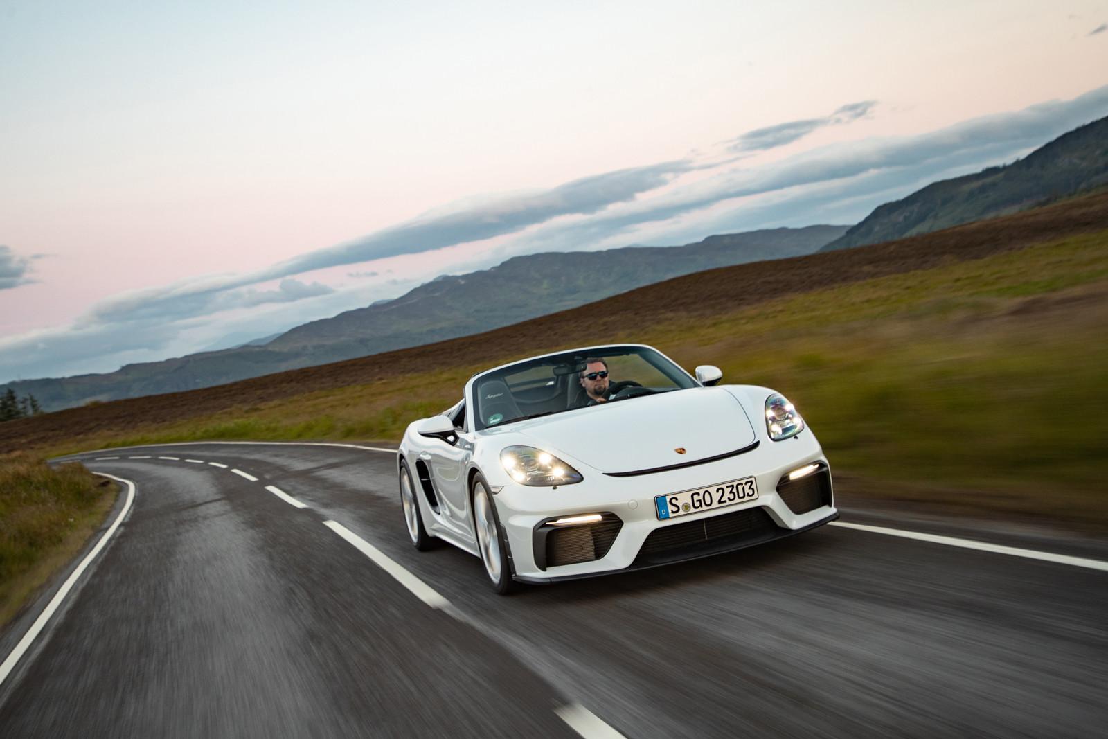 Foto de Porsche 718 Spyder (prueba contacto) (108/296)