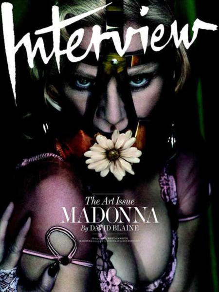 Madonna Interview Cover The Art Issue Diciembre 2014