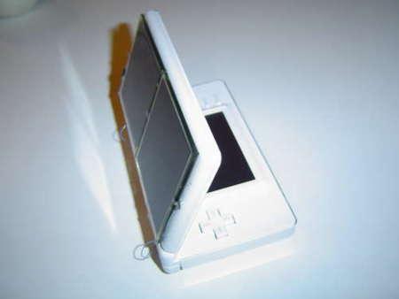 Nintendo DS alimentada con energía solar