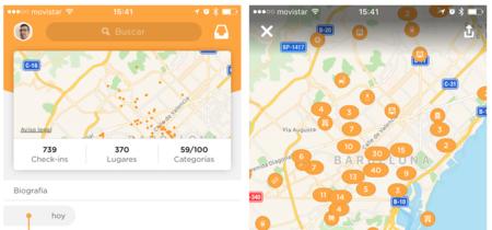 Swarm 5, Foursquare vuelve a empujar sus check-ins con una nueva fórmula: App de la Semana