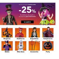 Halloween 2018: 25% de descuento en disfraces  para niños en Toys `r us