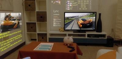 Microsoft SurroundWeb, cuando el navegador web se funde con nuestro salón