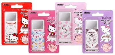Protección de Hello Kitty para el iPod nano