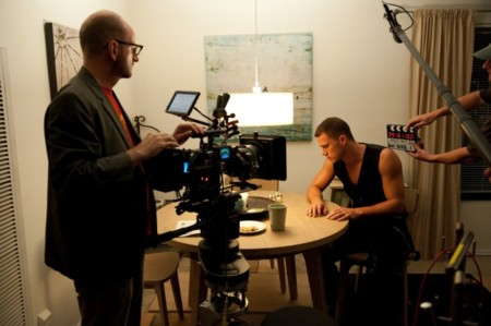 Steven Soderbergh rodando Magic Mike
