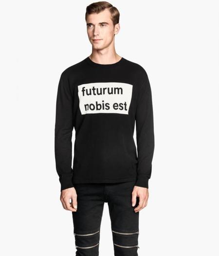 Sudaderas Sweater Tipografia Invierno 2014 Trendencias Hombre