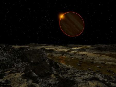 05 Sun Seen From Europa