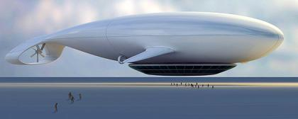Manned Cloud: exclusivo viaje a bordo de un zepelín desde Paris