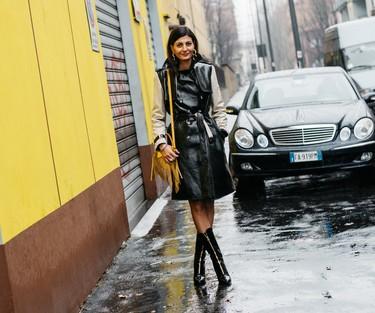 Y por fin llegó la lluvia... así puedes seguir siendo la más estilosa a pesar del chaparrón