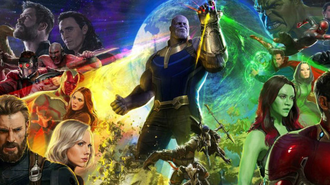 Infinity War Poster 242018