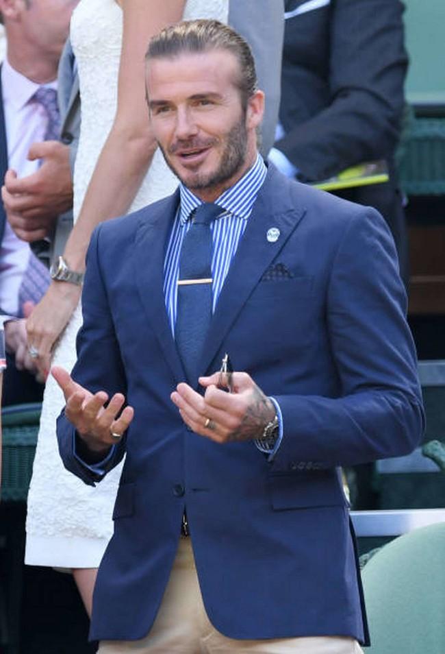 David Beckham Llevo A Su Madre Y Un Estilazo A Wimbledon Que Nos Ha Inspirado El Look Perfecto De Verano 2