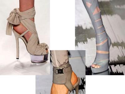 Plataformas en gris, el must-have de la temporada Primavera-Verano 2010