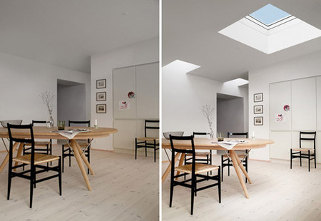 Las 8 claves para aprovechar la luz en nuestro hogar: vivienda con cubierta plana (III)