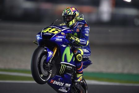 Valentino Rossi Gp Catar Motogp 2017