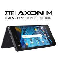 ZTE Axon M: la arriesgada apuesta de ZTE por un móvil de doble pantalla plegable