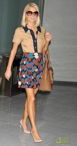 Paris Hilton también puede vestir bien