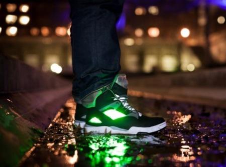 Zapatillas Reebok 2012 Omni Zone Pump, luz en la oscuridad