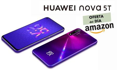 Sólo hoy, si eres Prime, Amazon te deja el Huawei Nova 5T por unos ajustados 239 euros