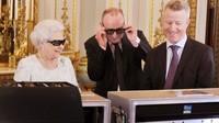 Las gafas 3D de la Reina de Inglaterra eran de Swarovski