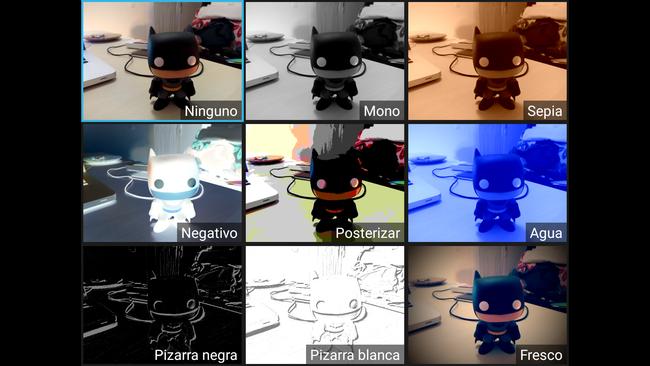 Filtros de cámara del InnJoo 3