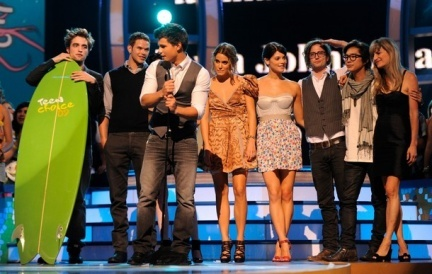 'Crepúsculo' sigue triunfando, esta vez en los Teen Choice Awards