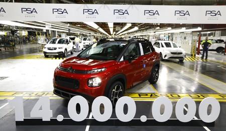 ¡Máquinas a todo gas! La planta del Grupo PSA en Figueruelas alcanza los 14 millones de coches producidos en 38 años de historia
