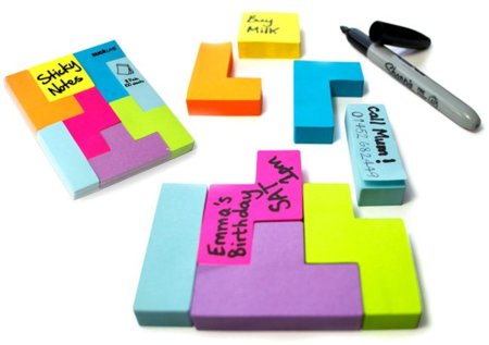 Post-its Tetris