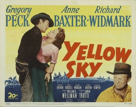 Western: 'Cielo amarillo' de William A. Wellman