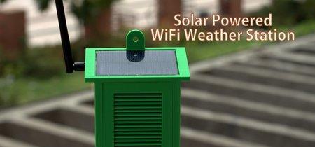 Esta estación meteorológica se alimenta por un panel solar, tiene Wi-Fi y es muy fácil de construir y barata