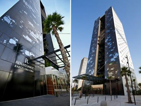 Hotel Renaissance Barcelona Fira diseñado por Jean Nouvel y Ribas & Ribas