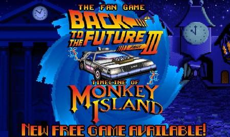 Back to the Future Part III: Timeline of Monkey Island es el crossover con el que soñó tu yo del pasado