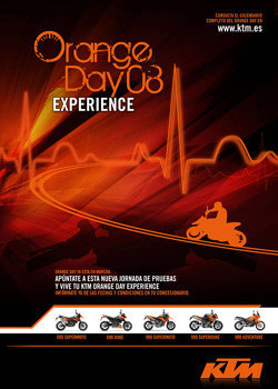 Vuelven los Orange Day de KTM
