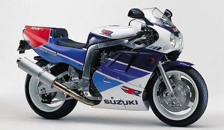 Suzuki Gsx R750r 1989