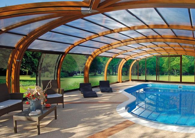 abrisud sorprende con sus nuevas cubiertas para piscinas