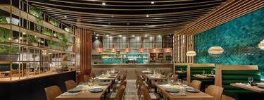 El interiorismo del nuevo restaurante barcelonés Ca la Rossita nos traslada a una escena marítima