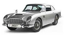 Subastan el Aston Martin DB5 de James Bond