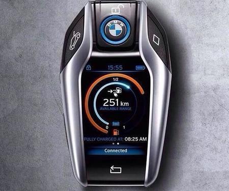 La innovación y la tecnología también en la llave del BMW i8