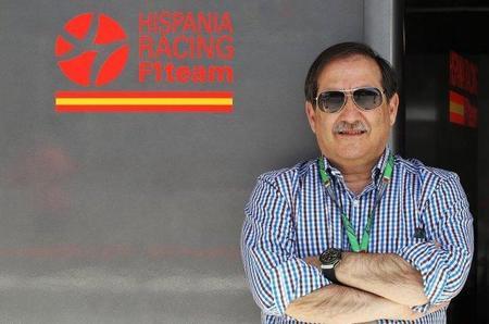 José Ramón Carabante niega los rumores sobre problemas económicos en Hispania Racing F1 Team