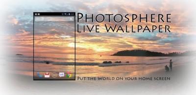 Photosphere Live Wallpaper te permite poner fotos a 360º como fondo de pantalla en tu Android