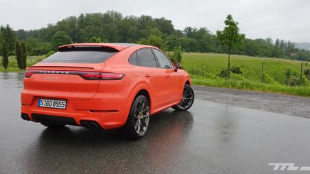 Porsche Cayenne Coupé, prueba contacto